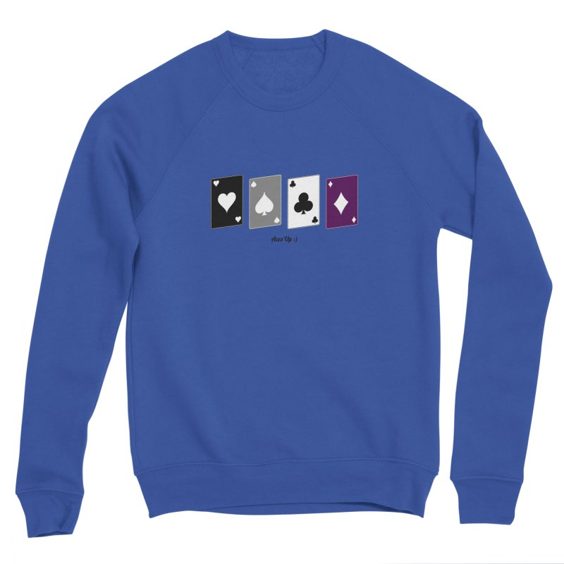 Aces Up :) Men's Sponge Fleece Sweatshirt by Cory & Mike's Artist Shop