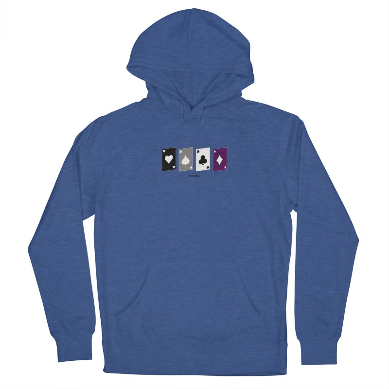 Aces Up :) Men's Pullover Hoody by Cory & Mike's Artist Shop