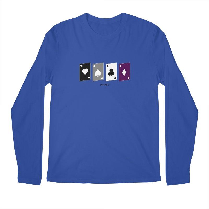 Aces Up :) Men's Regular Longsleeve T-Shirt by Cory & Mike's Artist Shop