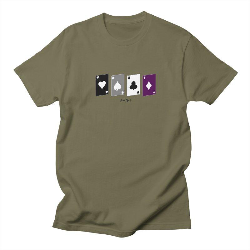 Aces Up :) Women's Regular Unisex T-Shirt by Cory & Mike's Artist Shop