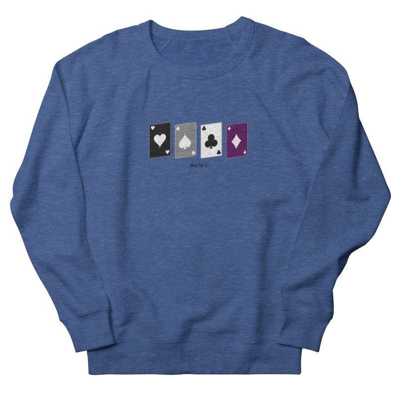 Aces Up :) Men's Sweatshirt by Cory & Mike's Artist Shop