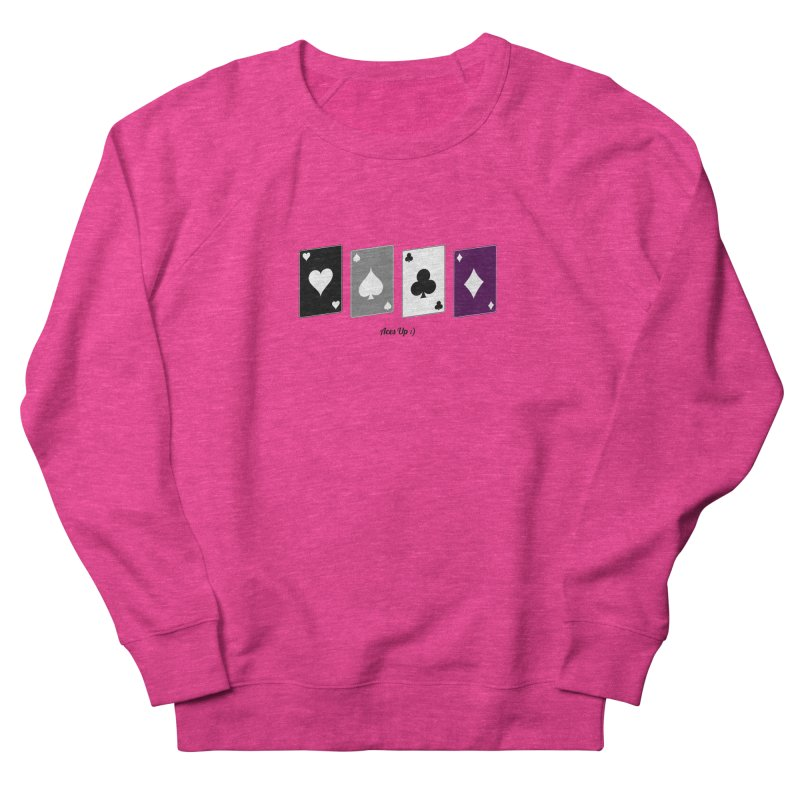 Aces Up :) Men's French Terry Sweatshirt by Cory & Mike's Artist Shop