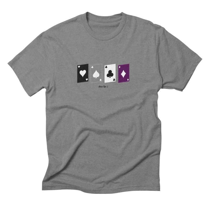 Aces Up :) Men's Triblend T-Shirt by Cory & Mike's Artist Shop