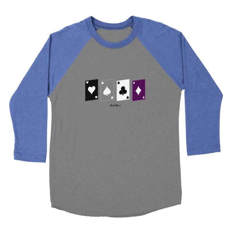 Aces Up :) Men's Baseball Triblend Longsleeve T-Shirt by Cory & Mike's Artist Shop
