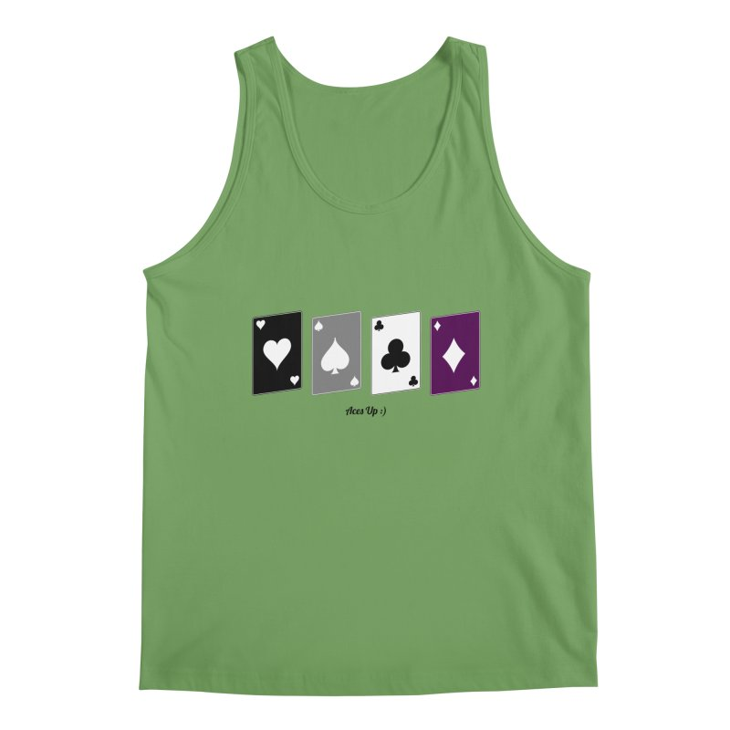 Aces Up :) Men's Tank by Cory & Mike's Artist Shop