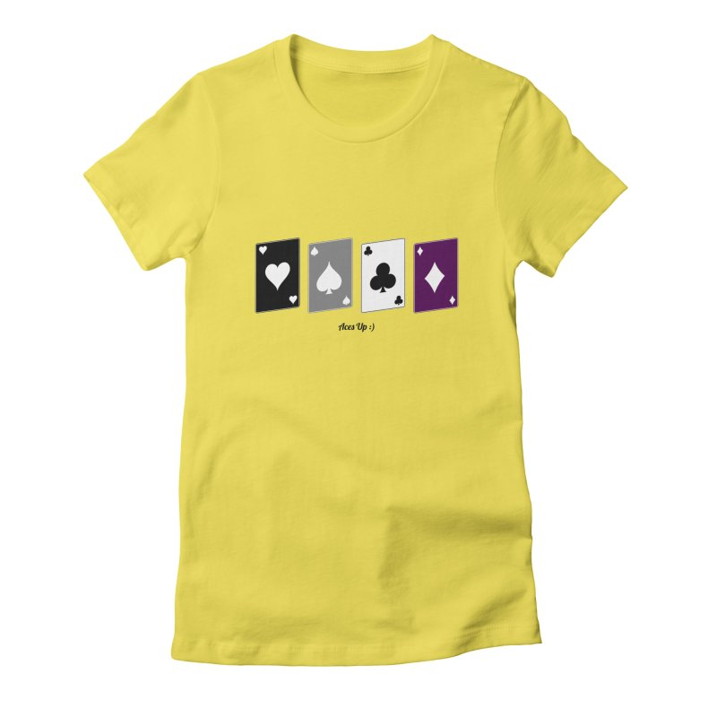 Aces Up :) Women's T-Shirt by Cory & Mike's Artist Shop