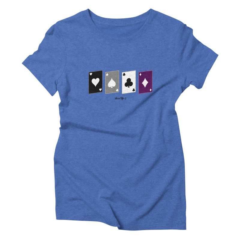 Aces Up :) Women's Triblend T-Shirt by Cory & Mike's Artist Shop