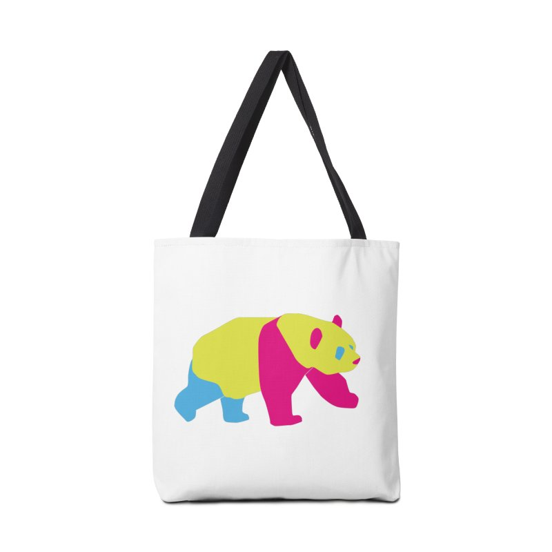 Pride PANda Accessories Tote Bag Bag by Cory & Mike's Artist Shop