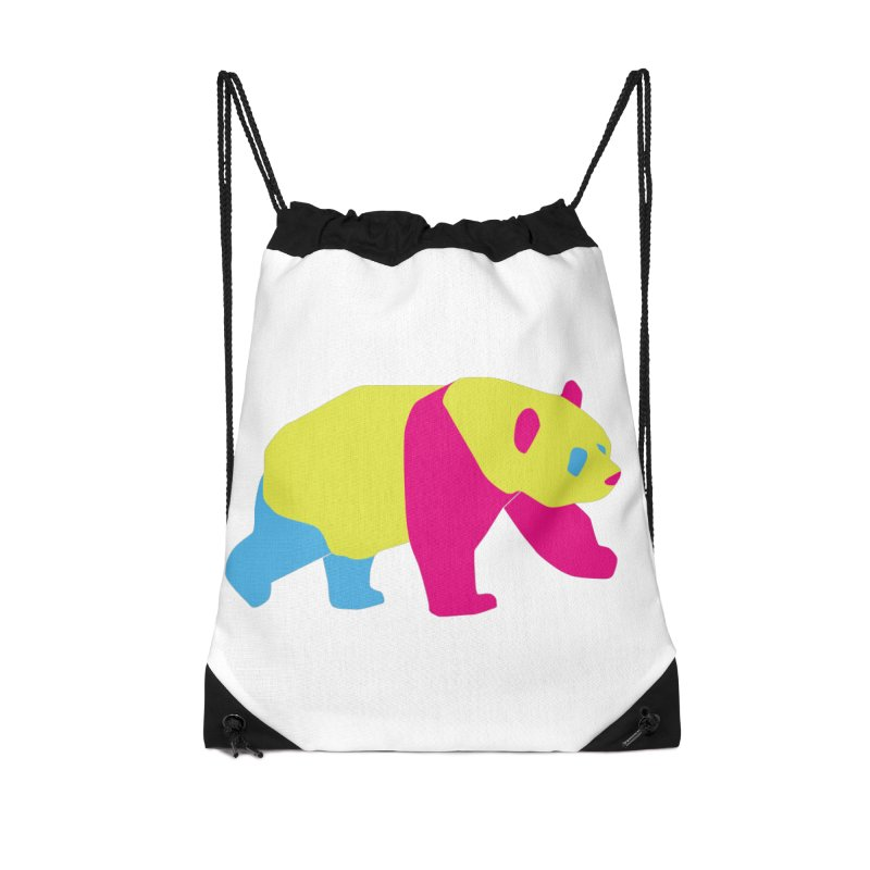 Pride PANda Accessories Drawstring Bag Bag by Cory & Mike's Artist Shop