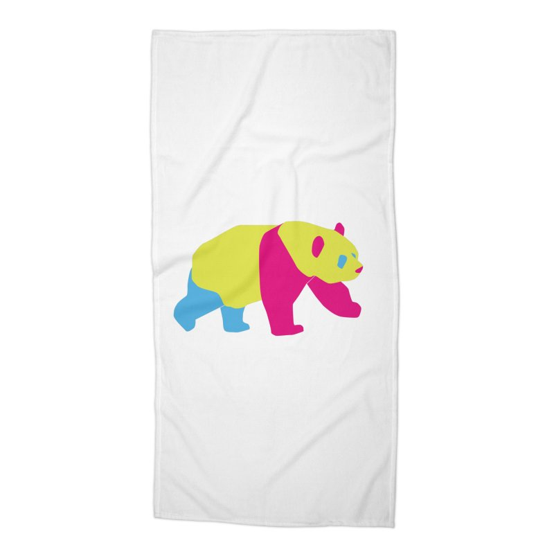 Pride PANda Accessories Beach Towel by Cory & Mike's Artist Shop