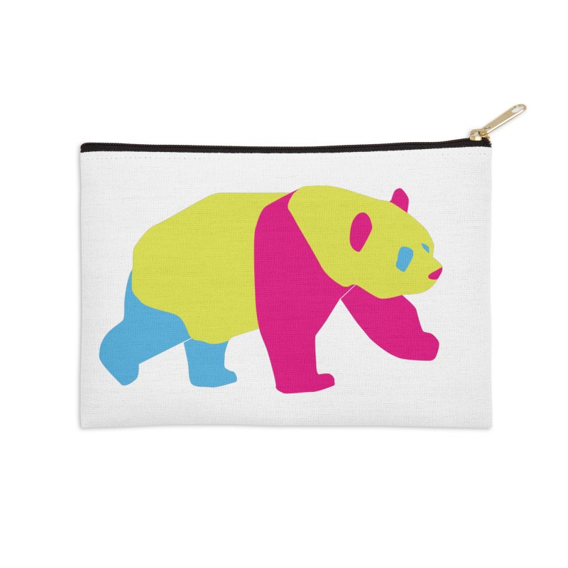 Pride PANda Accessories Zip Pouch by Cory & Mike's Artist Shop