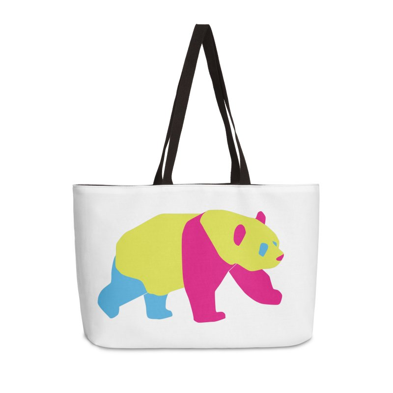 Pride PANda Accessories Weekender Bag Bag by Cory & Mike's Artist Shop