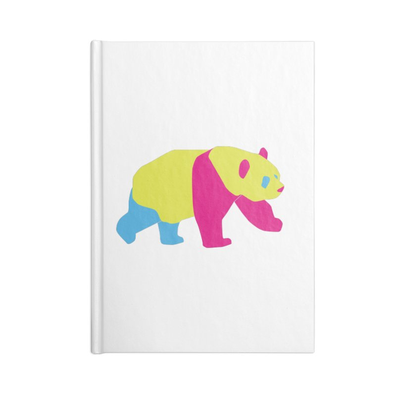 Pride PANda Accessories Lined Journal Notebook by Cory & Mike's Artist Shop