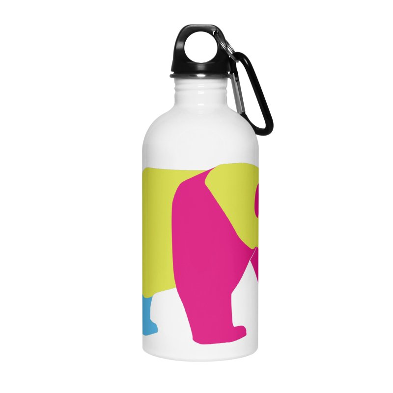 Pride PANda Accessories Water Bottle by Cory & Mike's Artist Shop