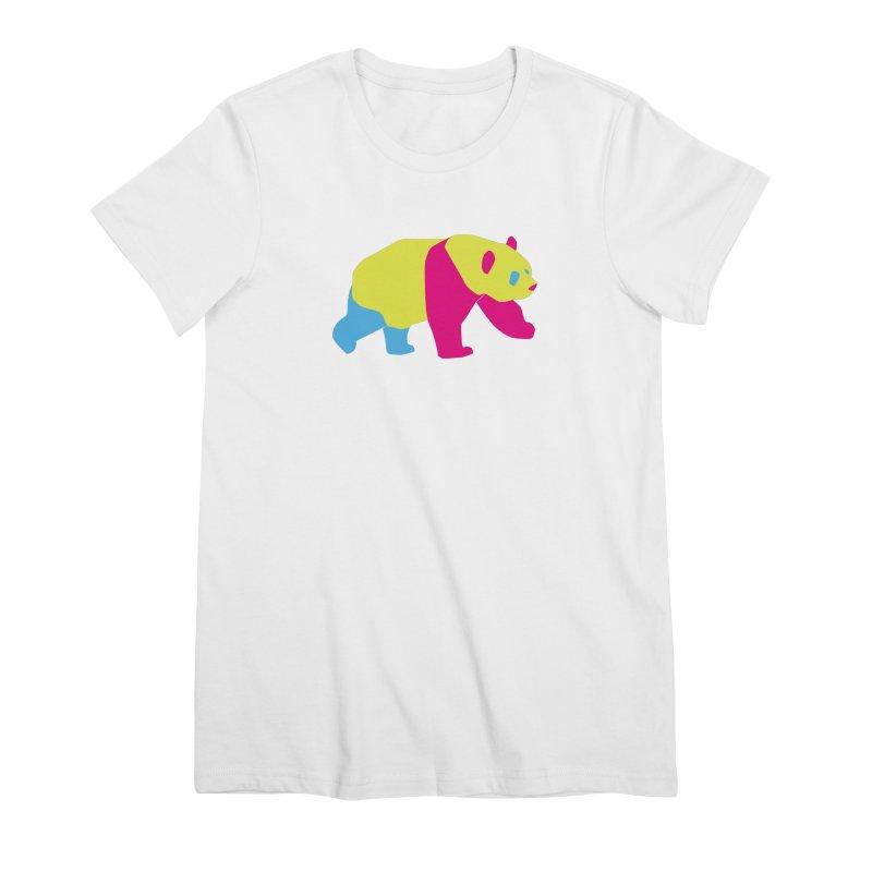 Pride PANda Women's Premium T-Shirt by Cory & Mike's Artist Shop