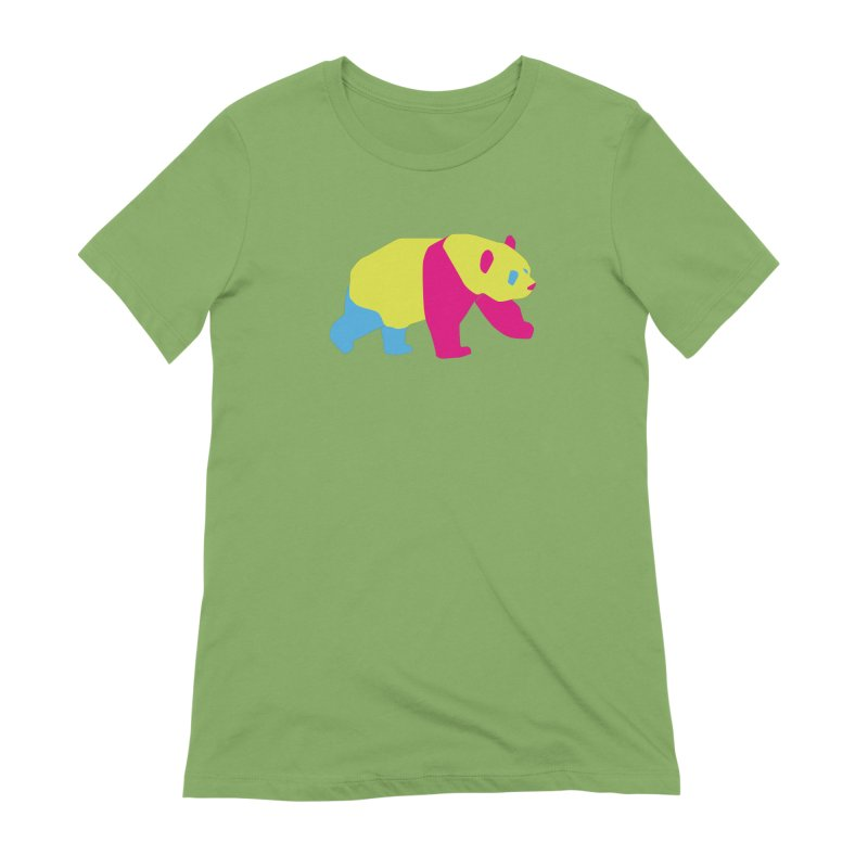 Pride PANda Women's Extra Soft T-Shirt by Cory & Mike's Artist Shop