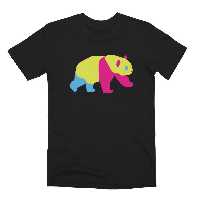Pride PANda Men's Premium T-Shirt by Cory & Mike's Artist Shop