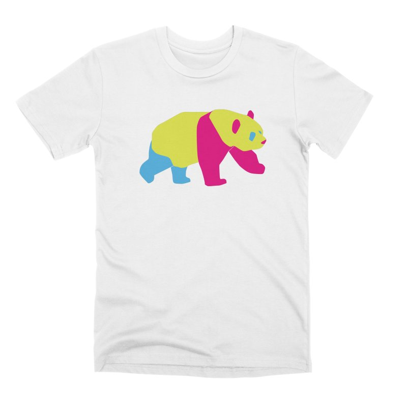 Pride PANda Men's Premium T-Shirt by Cory & Mike's Artist Shop
