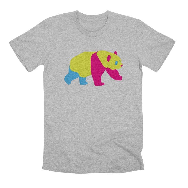 Pride PANda Men's T-Shirt by Cory & Mike's Artist Shop