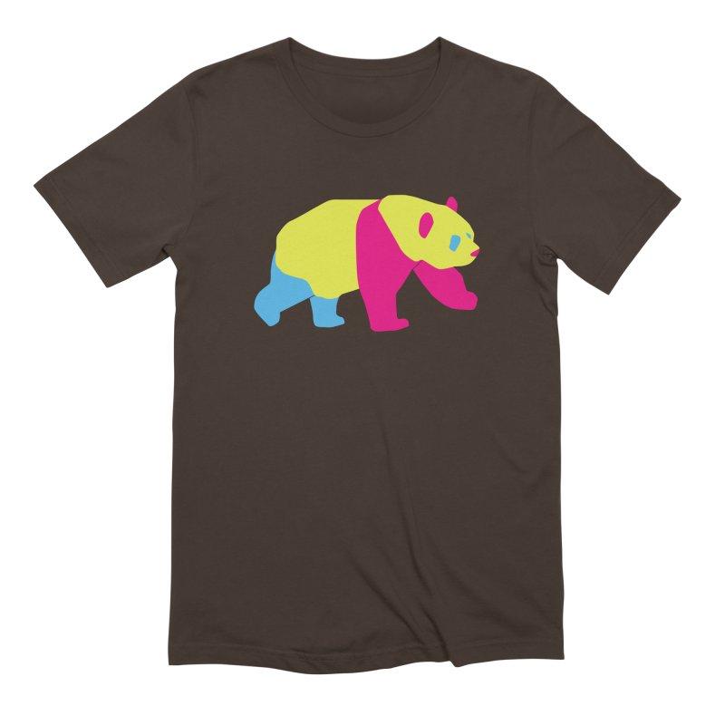 Pride PANda Men's Extra Soft T-Shirt by Cory & Mike's Artist Shop