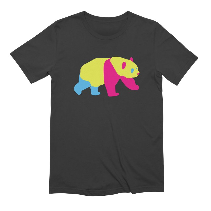 Pride PANda Men's Extra Soft T-Shirt by Cory & Mike's Artist Shop
