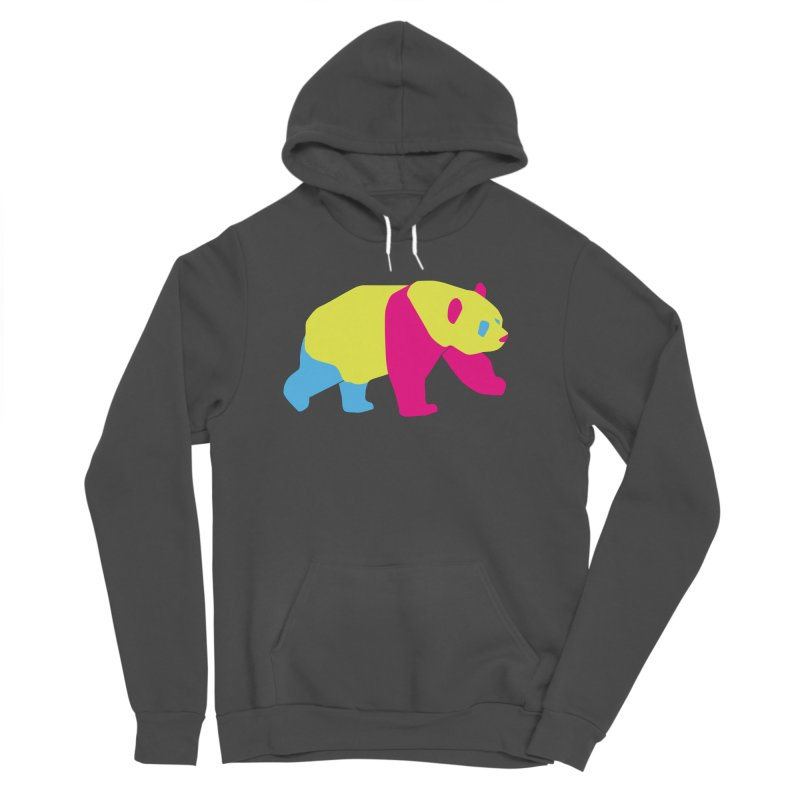 Pride PANda Women's Sponge Fleece Pullover Hoody by Cory & Mike's Artist Shop