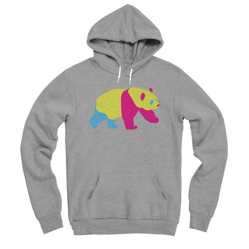 Pride PANda Women's Sponge Fleece Pullover Hoody by Cory & Mike's Artist Shop