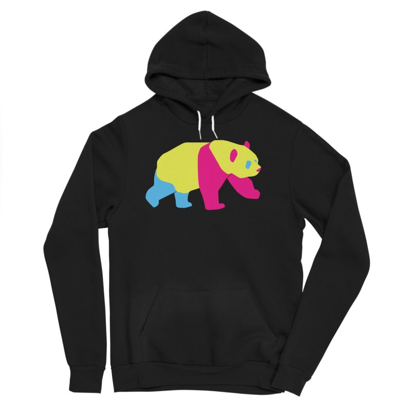 Pride PANda Men's Sponge Fleece Pullover Hoody by Cory & Mike's Artist Shop