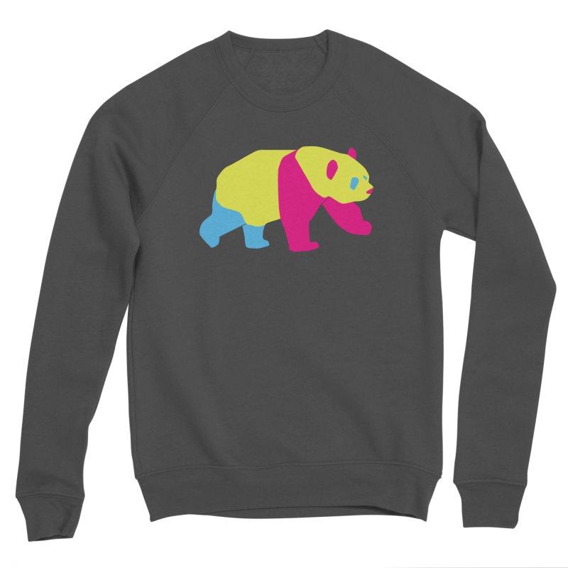Pride PANda Men's Sponge Fleece Sweatshirt by Cory & Mike's Artist Shop