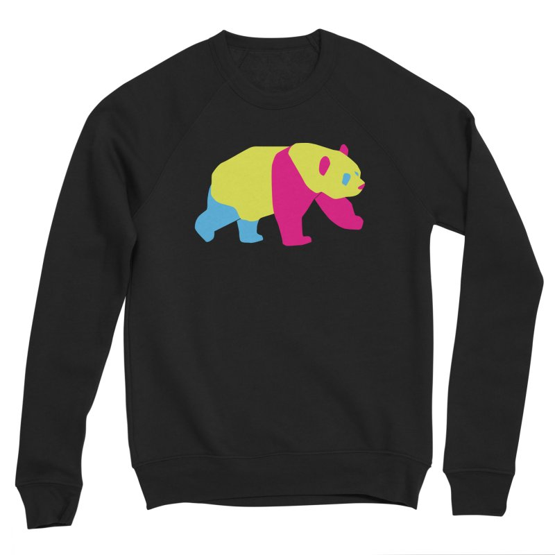 Pride PANda Women's Sponge Fleece Sweatshirt by Cory & Mike's Artist Shop