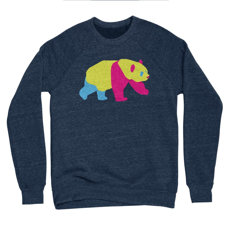 Pride PANda Men's Sponge Fleece Sweatshirt by Cory & Mike's Artist Shop
