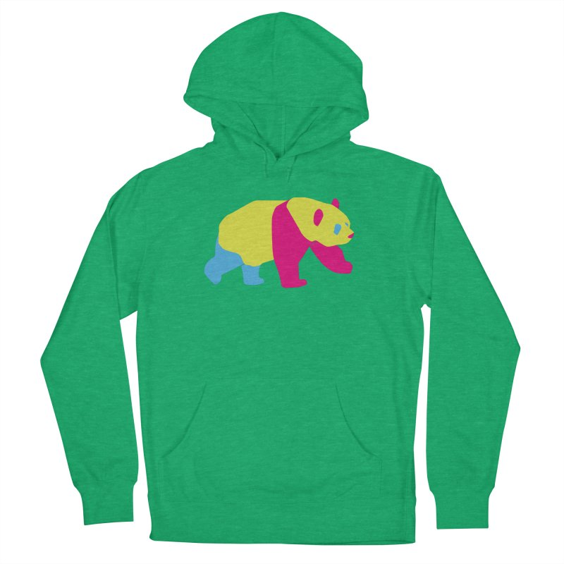 Pride PANda Men's French Terry Pullover Hoody by Cory & Mike's Artist Shop