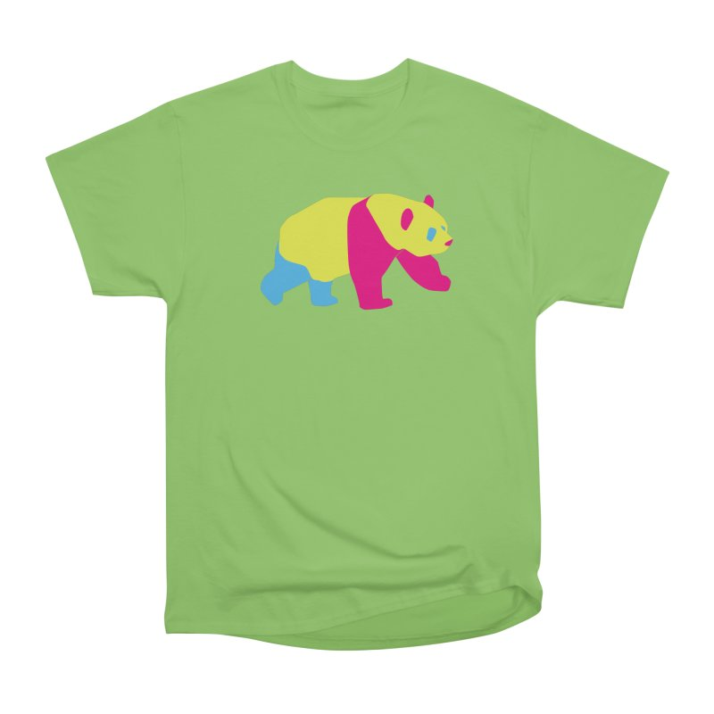 Pride PANda Women's Heavyweight Unisex T-Shirt by Cory & Mike's Artist Shop