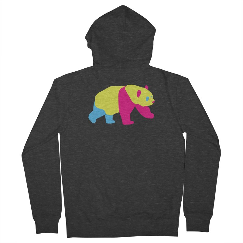 Pride PANda Women's French Terry Zip-Up Hoody by Cory & Mike's Artist Shop