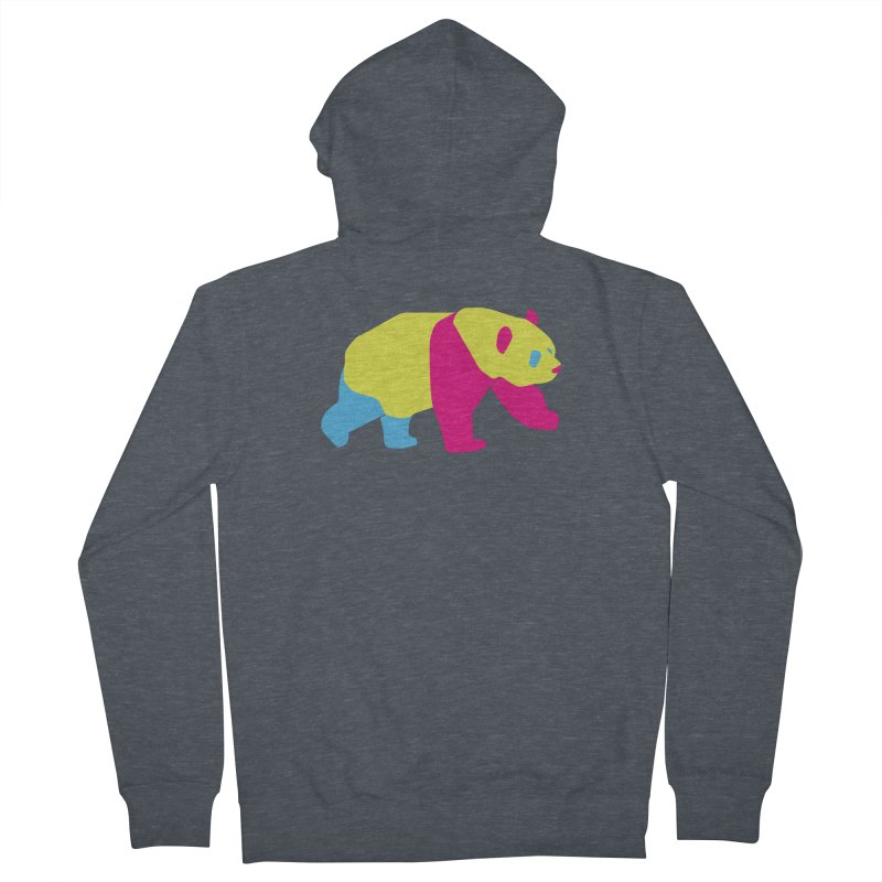 Pride PANda Men's French Terry Zip-Up Hoody by Cory & Mike's Artist Shop