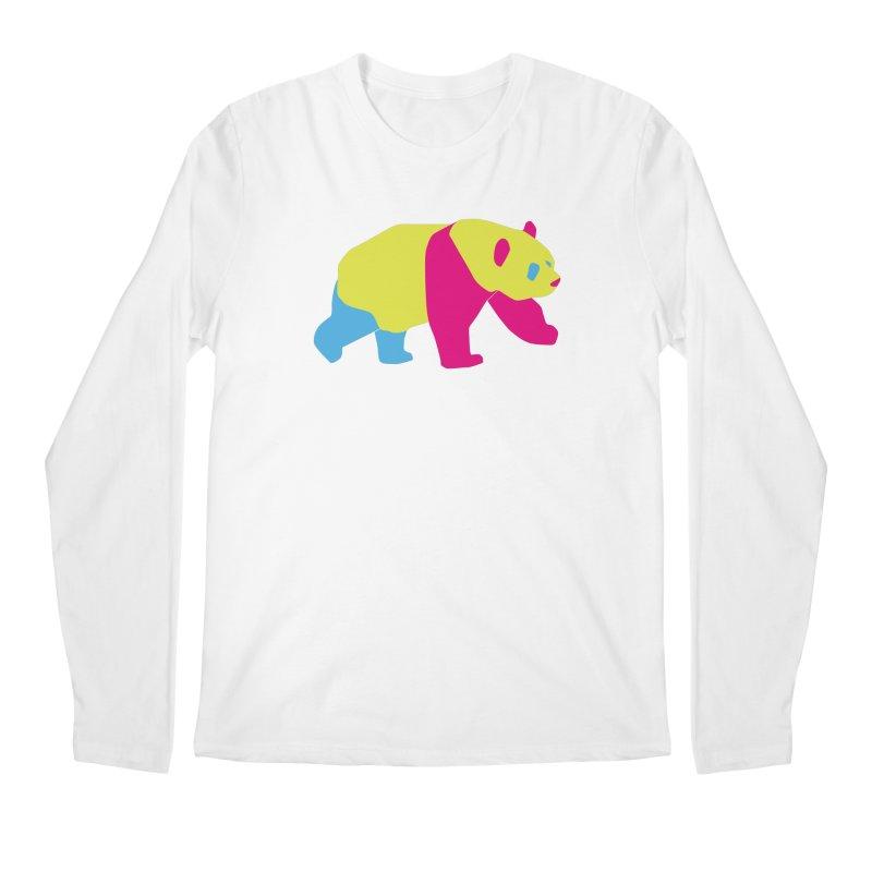 Pride PANda Men's Regular Longsleeve T-Shirt by Cory & Mike's Artist Shop