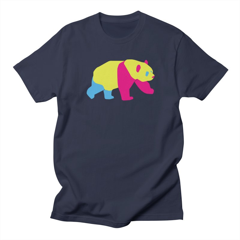 Pride PANda Men's Regular T-Shirt by Cory & Mike's Artist Shop