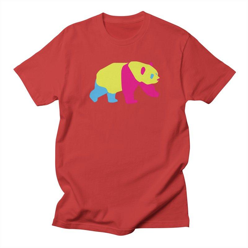 Pride PANda Women's Regular Unisex T-Shirt by Cory & Mike's Artist Shop