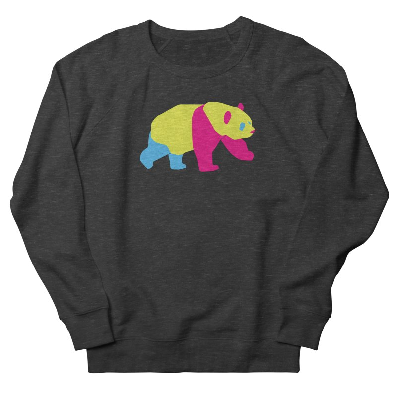 Pride PANda Women's French Terry Sweatshirt by Cory & Mike's Artist Shop