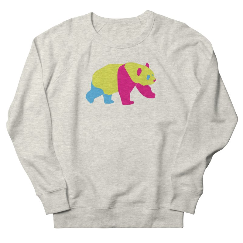 Pride PANda Women's French Terry Sweatshirt by Cory & Mike's Artist Shop