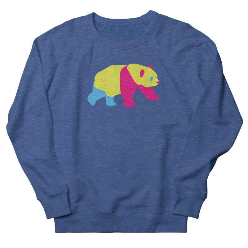 Pride PANda Men's French Terry Sweatshirt by Cory & Mike's Artist Shop