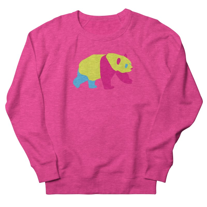 Pride PANda Men's French Terry Sweatshirt by Cory & Mike's Artist Shop