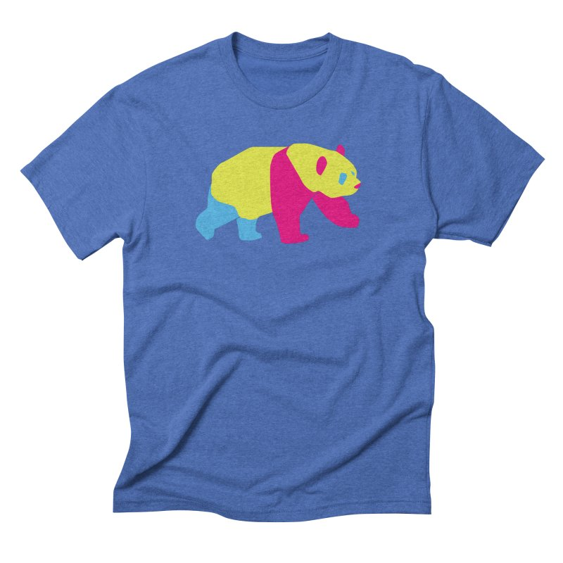 Pride PANda Men's Triblend T-Shirt by Cory & Mike's Artist Shop