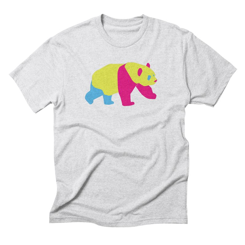 Pride PANda Men's Triblend T-Shirt by Cory & Mike's Artist Shop