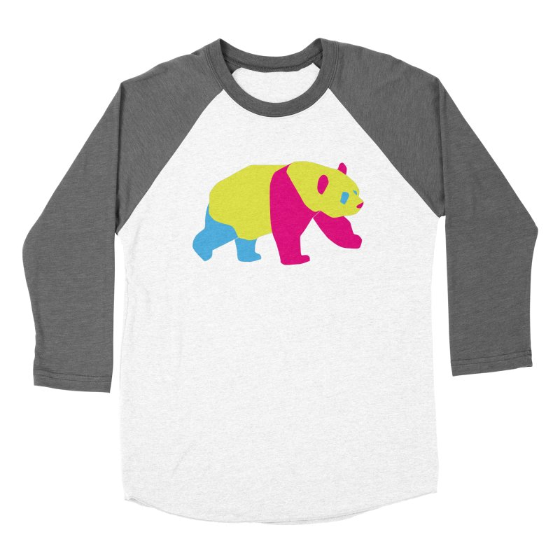 Pride PANda Women's Baseball Triblend Longsleeve T-Shirt by Cory & Mike's Artist Shop