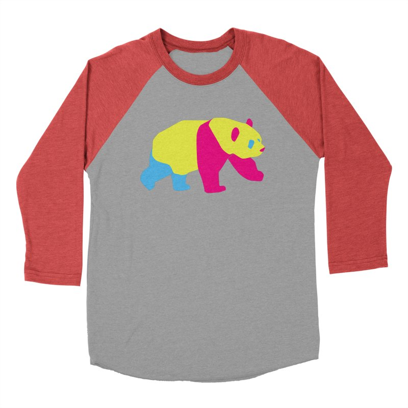 Pride PANda Women's Baseball Triblend Longsleeve T-Shirt by Cory & Mike's Artist Shop