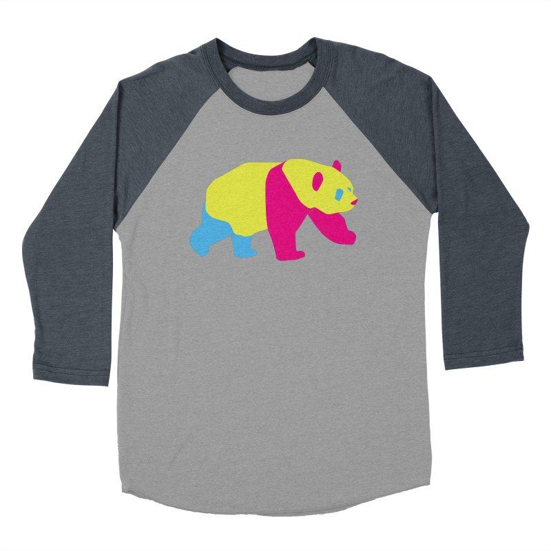 Pride PANda Men's Baseball Triblend Longsleeve T-Shirt by Cory & Mike's Artist Shop