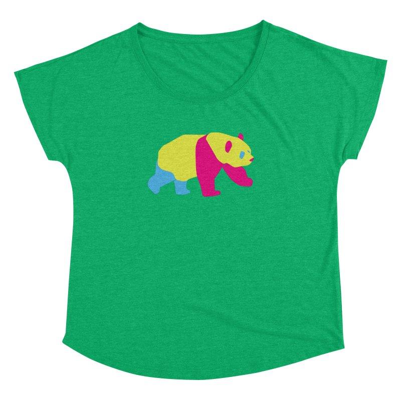 Pride PANda Women's Dolman Scoop Neck by Cory & Mike's Artist Shop