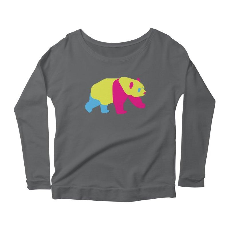 Pride PANda Women's Scoop Neck Longsleeve T-Shirt by Cory & Mike's Artist Shop