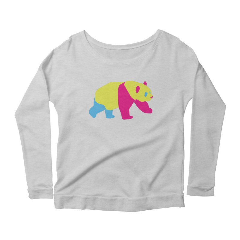 Pride PANda Women's Longsleeve T-Shirt by Cory & Mike's Artist Shop